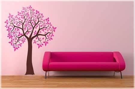 наклейки на стену, стикеры, цветы на стене, стикеры-цветы, наклейки-цветы, цветочный декор