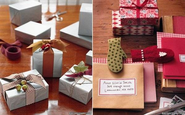 Декор коробки к новому году