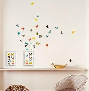 декор из бабочек