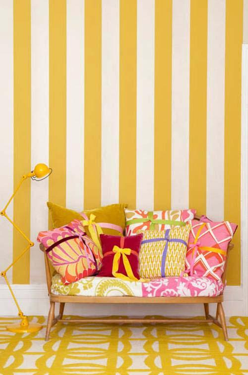 желтый цвет в интерьере, оттенки желтого в интерьере, желтый цвет в дизайне и декоре, красивые интерьеры, желтый интерьер, фотографии красивых интерьеров