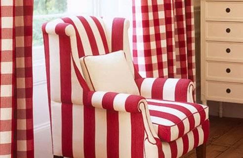 полоска в декоре интерьера, полосатый интерьер, линии в декоре, красивый интерьер