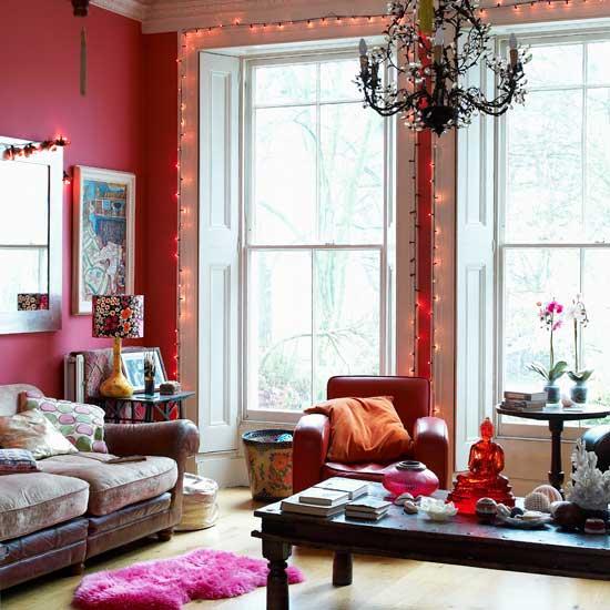 цветовые иллюзии в интерьере, разноцветные интерьеры, красивые интерьеры