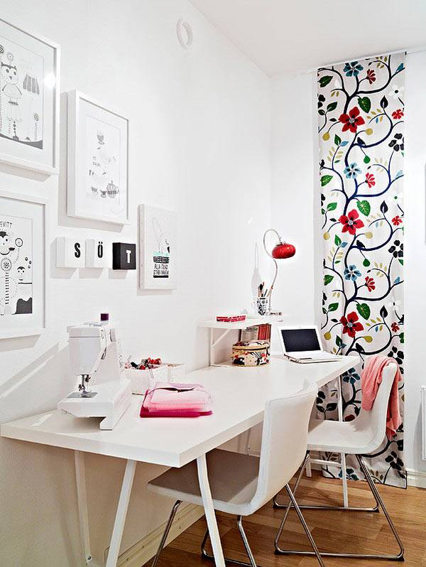 Home office for Decoracion de oficinas vintage