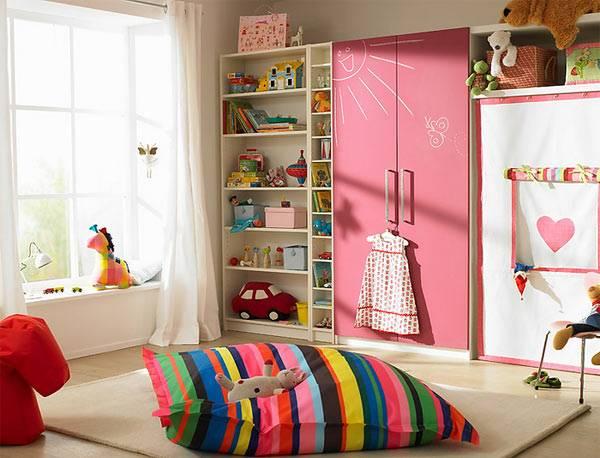Пример удачного оформления детской комнаты