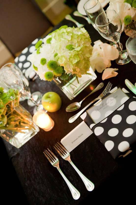 горох в интерьере, гороховый декор, polka dot decor, красивые интерьеры в горошек