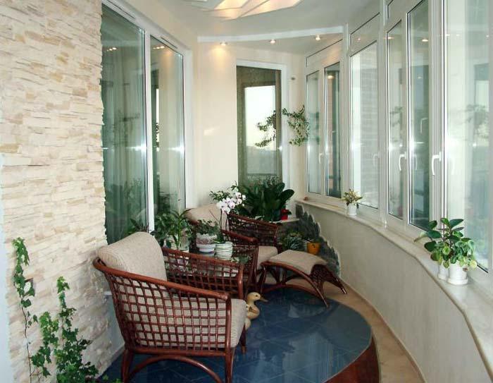 18 идей для оформления закрытых балконов и лоджий