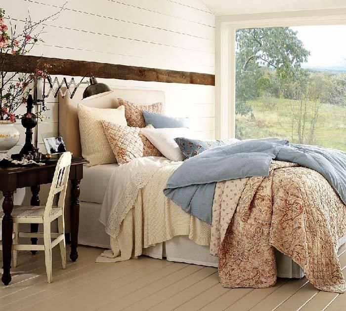красивые спальни: дизайн и текстиль