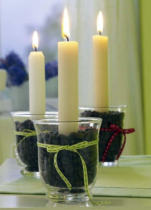 декоративные свечи фото