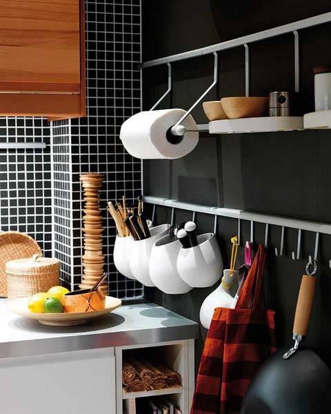 организация хранения кухонной утвари