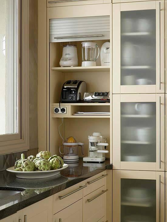 организация хранения предметов на кухне