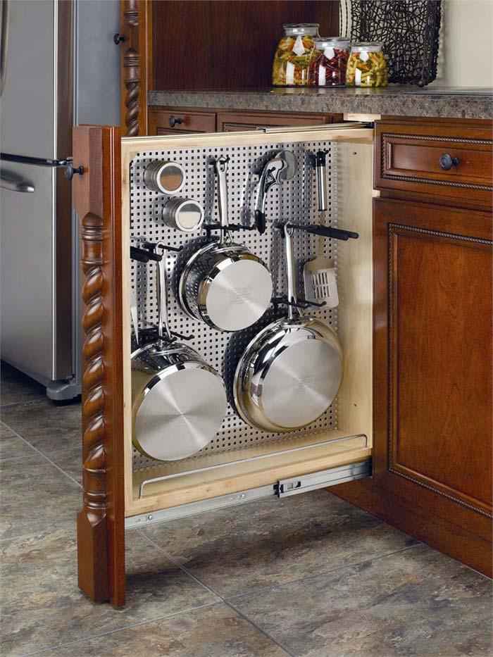 хранение кухонной утвари