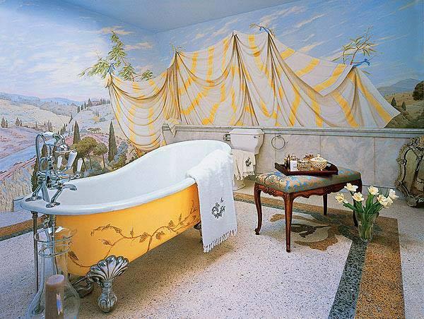 ванна на лапах фото
