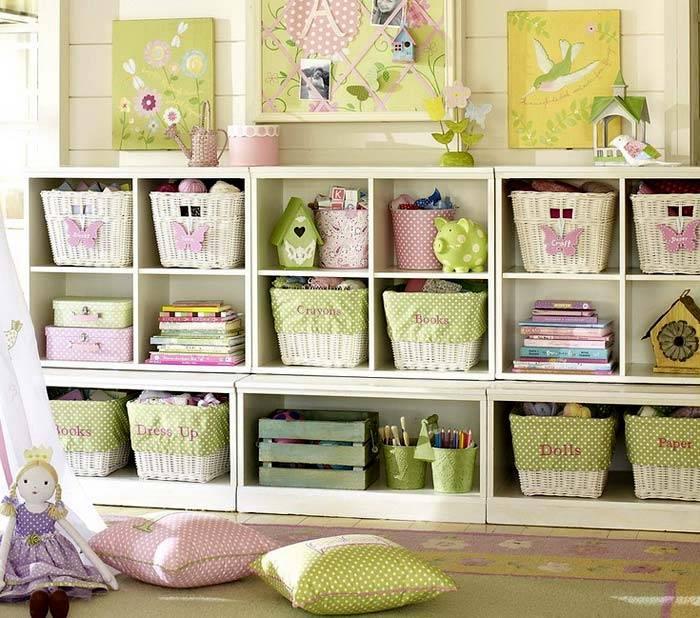 системы хранения для детских комнат