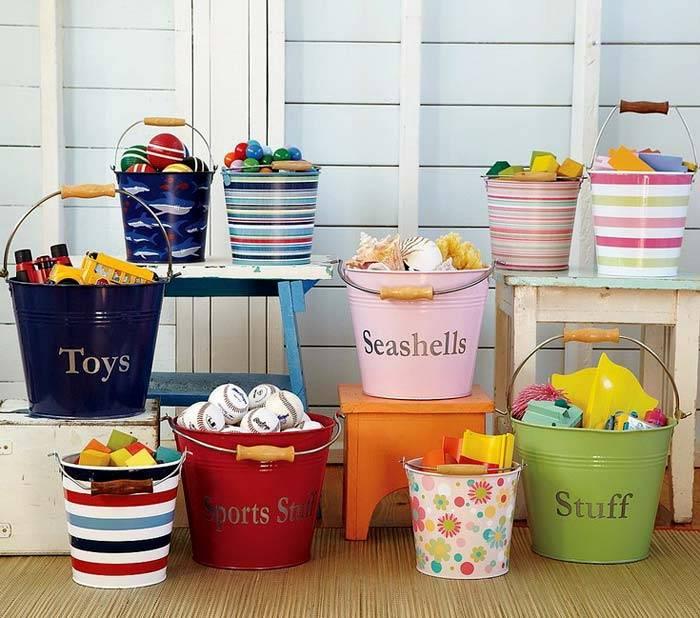 идеи хранения для детской комнаты