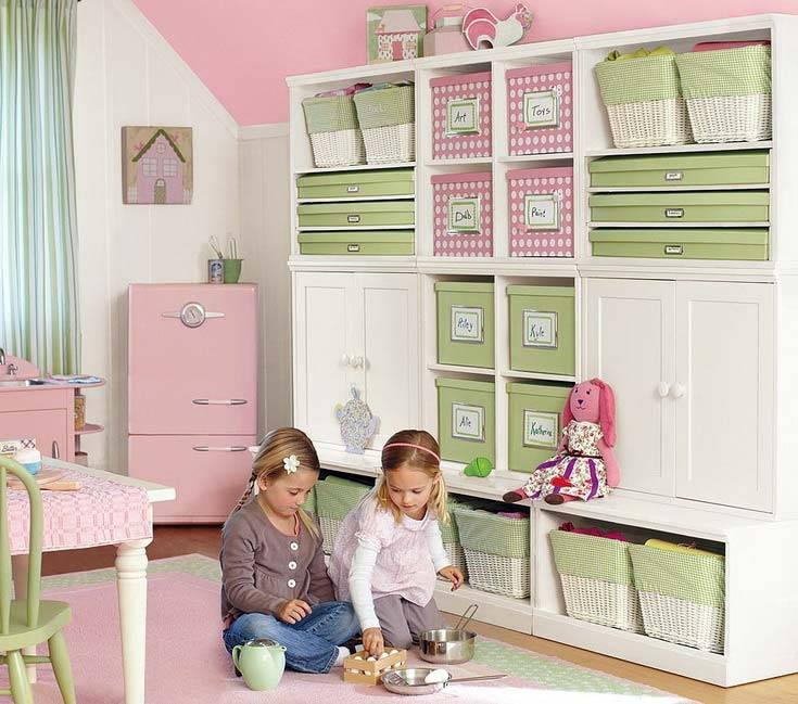 порядок в детской и хранение игрушек