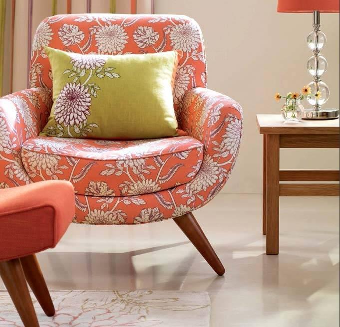 винтажные кресла для ретро интерьера