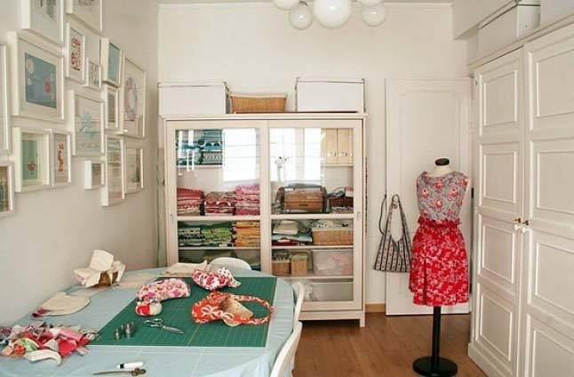красивые комнаты для рукоделия