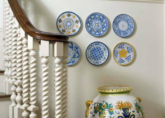 декоративные настенные тарелки