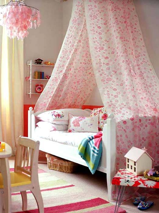 балдахин для детских кроватей