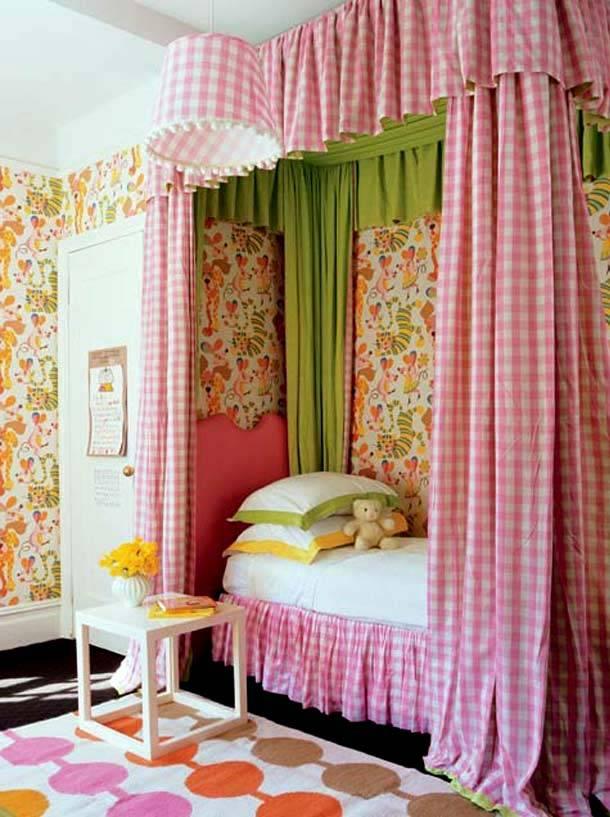 красивый балдахин для детской комнаты