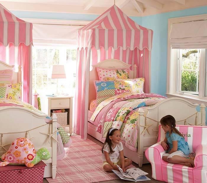балдахины в детских комнатах