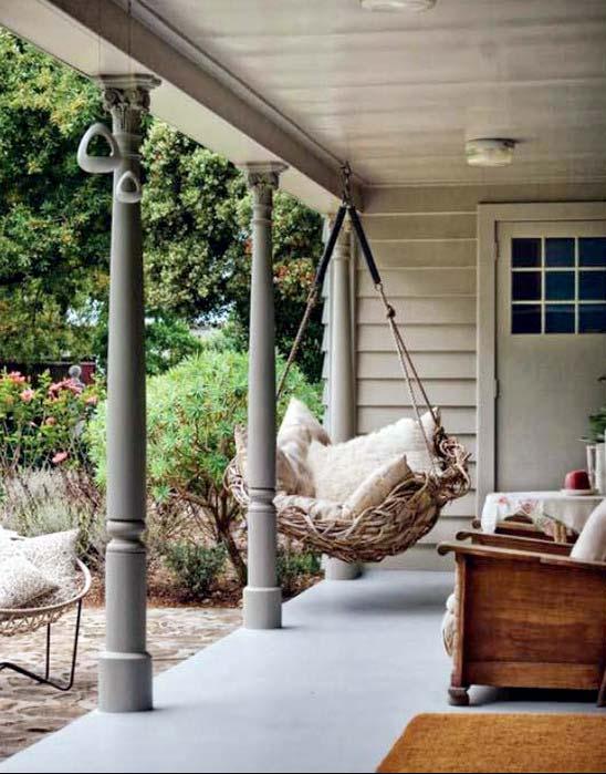 кресло подвесное для террасы