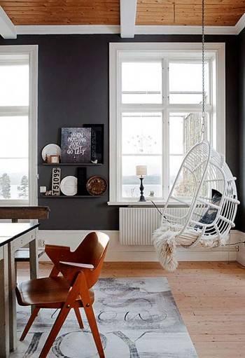 висящее кресло