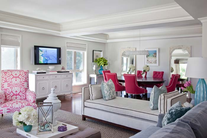Красивые интерьеры гостиной