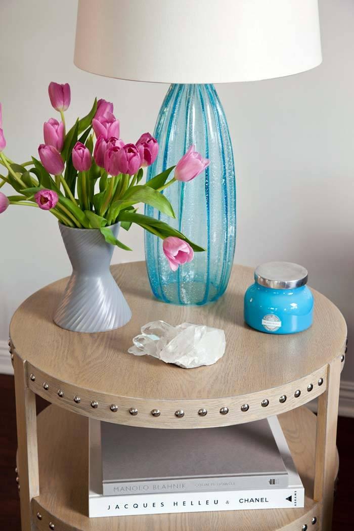 бирюзовый цвет в декоре