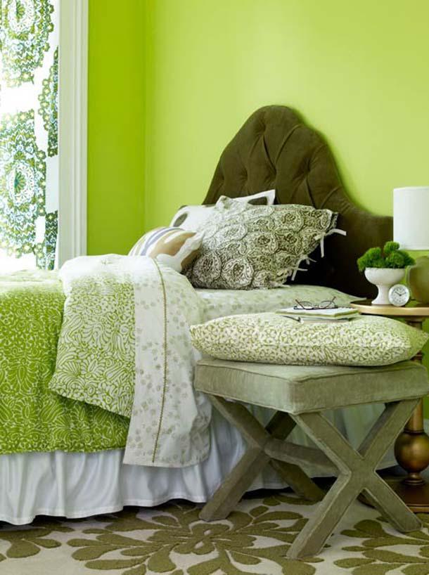 красочные спальни