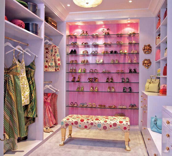Декор гардероба