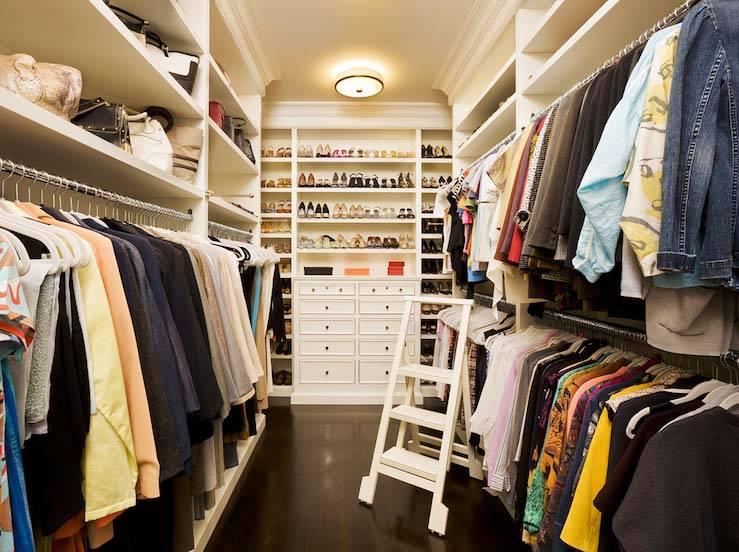 гардеробные комнаты