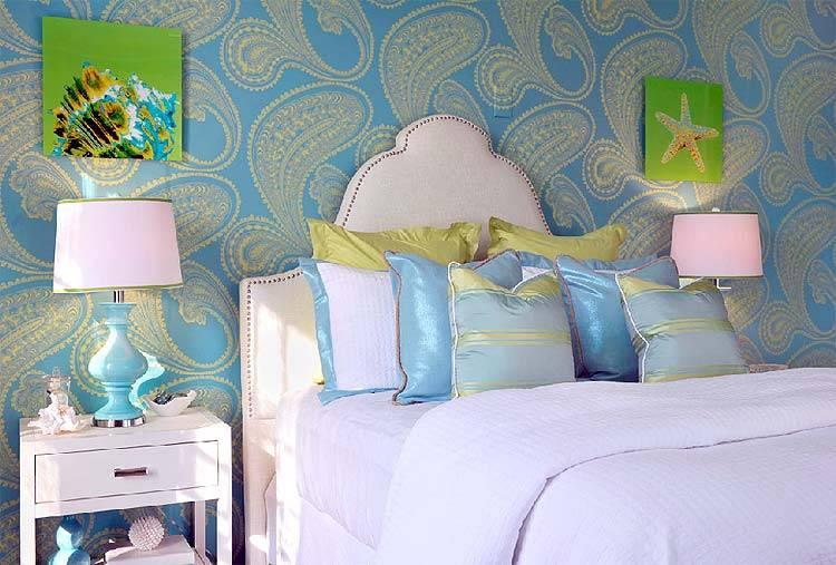 дизайн спальни от Dyfari Interiors