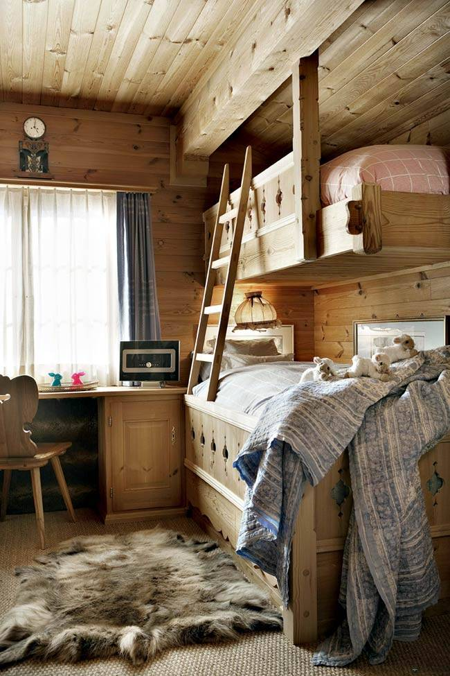 деревянное шале
