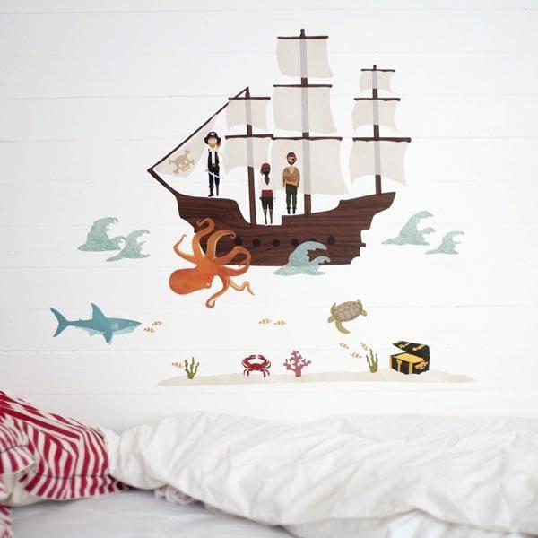 Корабль на стену своими руками 5