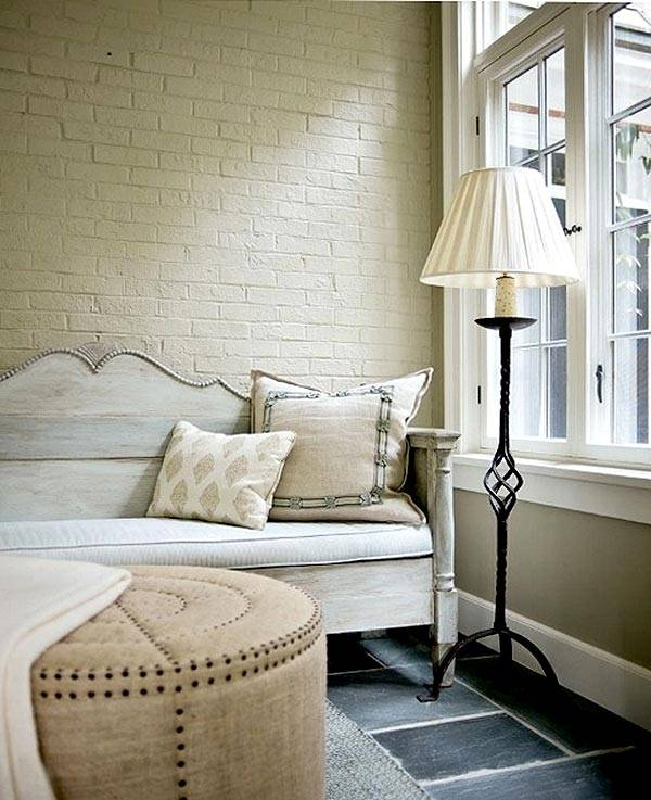 for Interior brick wall paint ideas