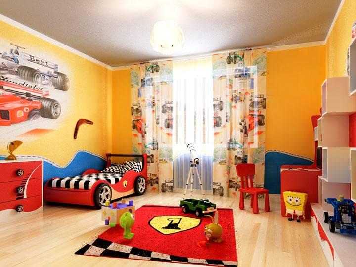 Цвет в дизайне детской комнаты: http://interiorizm.com/cvet-v-detskoj