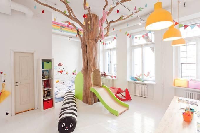 """Детская комната в ресторане """"Biblioteka"""""""