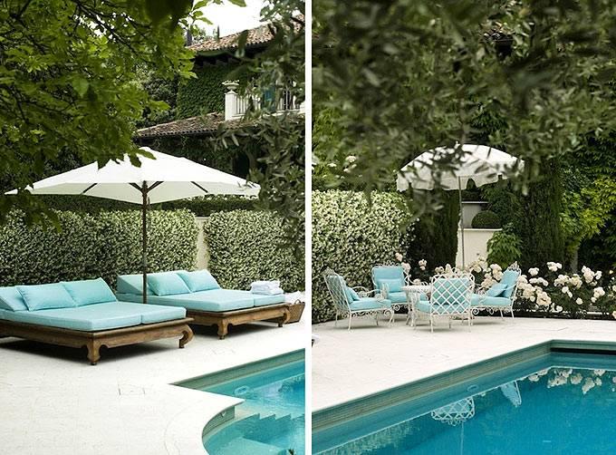 Уютный двор, утопающий в зелени (архитектор Michele Bonan)