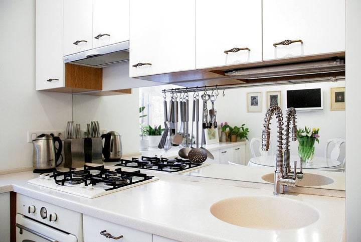 белые фасады кухонной мебели фото