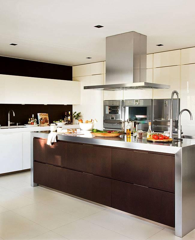 индустриальный стиль для кухни