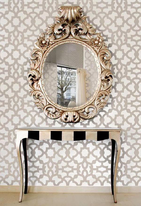 зеркала в интерьере фото