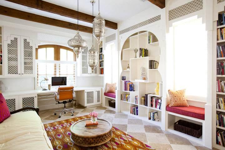интерьер в марокканский стиле