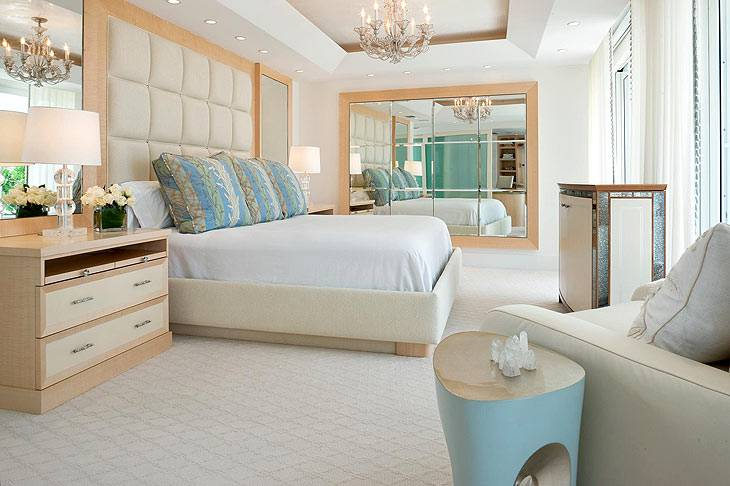 Роскошный дизайн интерьера дома в Палм Бич