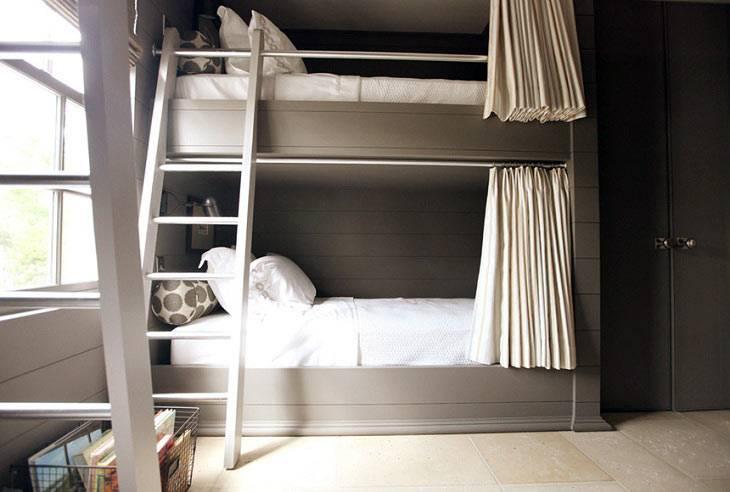 Двухъярусные кровати фото
