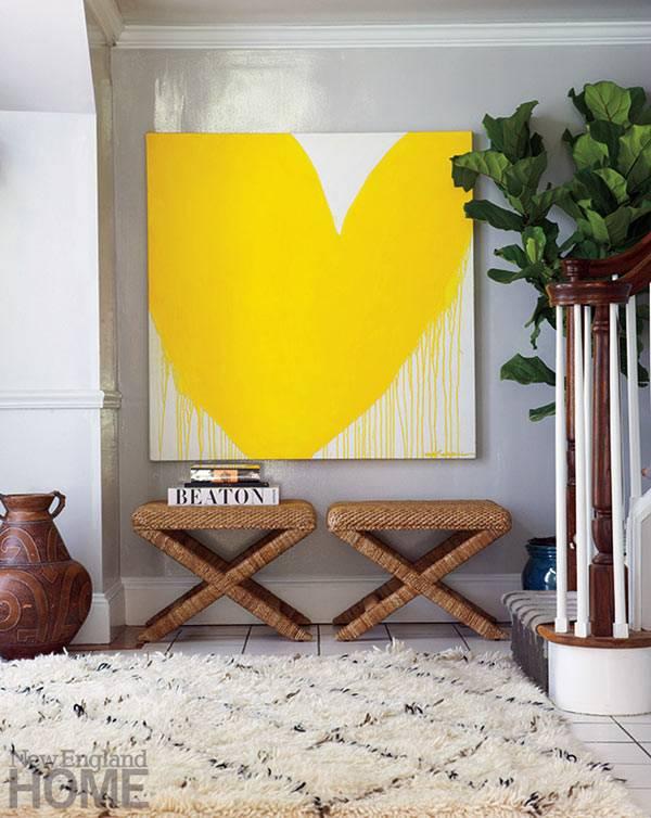 Яркий дом дизайнера Denise Davies