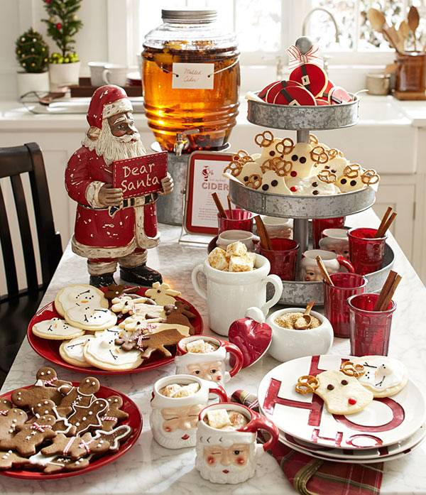 pottery barn christmas decor