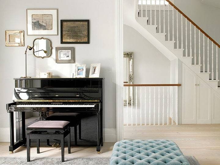 пианино в интерьере гостиной фото
