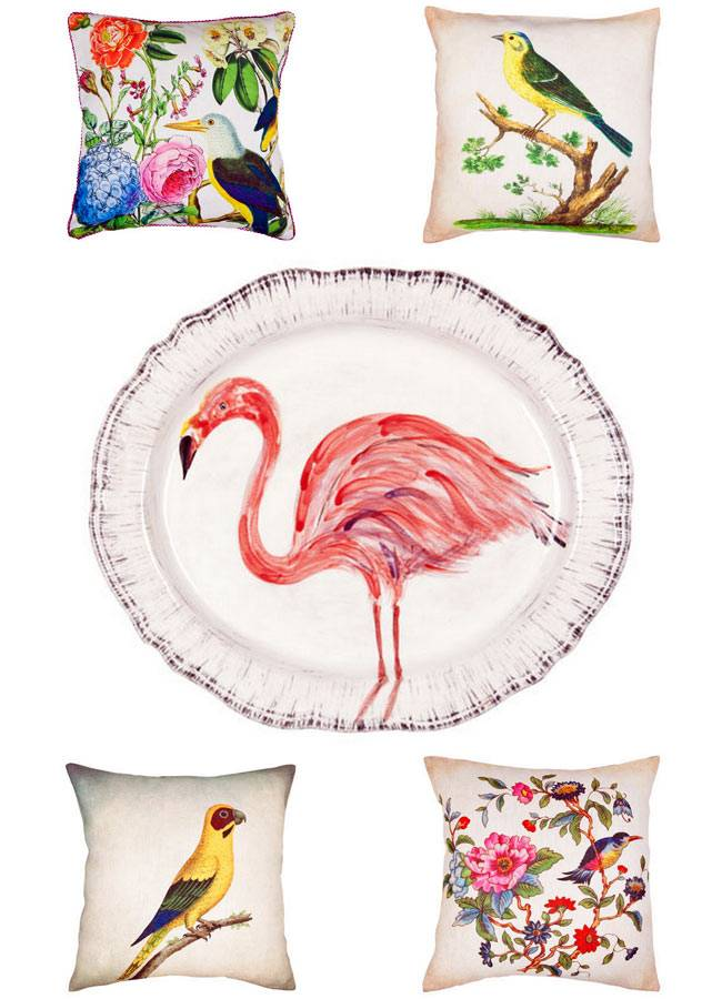 birds of paradise ZARA HOME