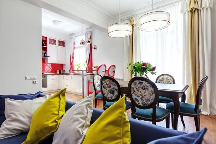 Живописный дизайн интерьера квартиры в Киеве